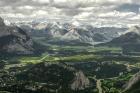 Sulpthur Mountain - Blick auf den Banff N.P.