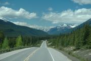 Auf dem Icefield Parkway - zwischen Banff und Jasper